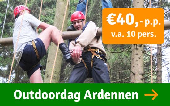 Bedrijfsuitje Ardennen Outdoor