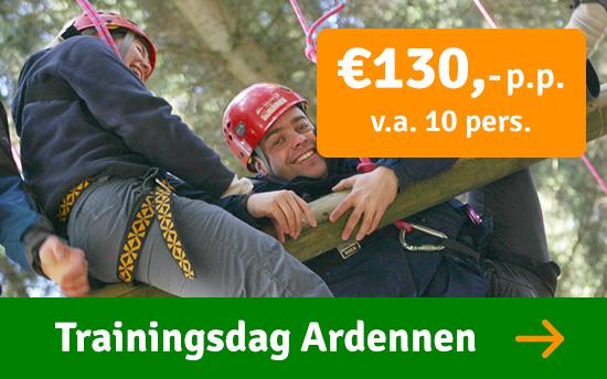 Trainingsdag bedrijven Ardennen