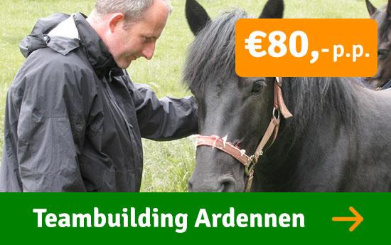 Teambuildingsdag Ardennen